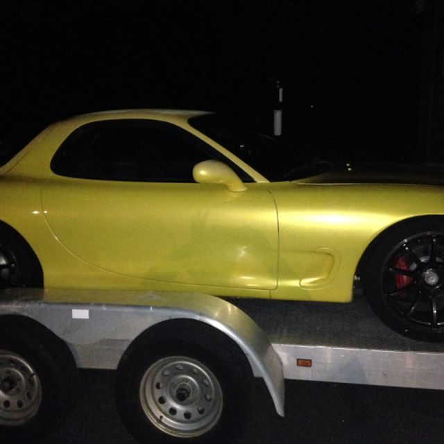 1993 Mazda Rx 7 Camshaft: 1993 RX-7 CYM Rare Yellow Mazda R1 Turbo Excellent Cond