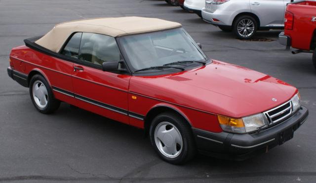 1993 Saab 900 Turbo Convertible Last Year Swedish Built Iconic Clic Design
