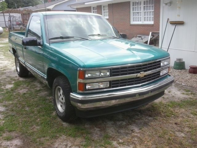 1993 Chevrolet C/K Pickup 1500 fleetside