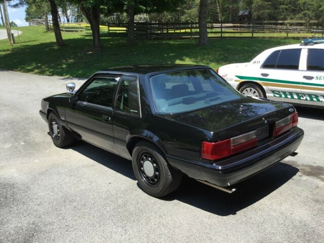 1993 SSP Mustang Fox-body Former FHP vehicle