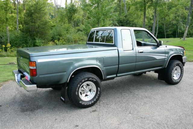1993 toyota 4x4 pickup sr5 xtracab v6 pre tacoma for sale photos technical. Black Bedroom Furniture Sets. Home Design Ideas