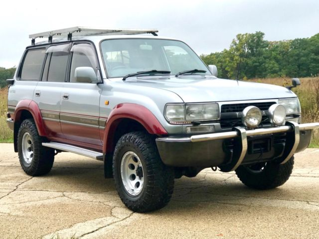 1993 Toyota Land Cruiser HDJ80 Turbo Diesel Triple Locked