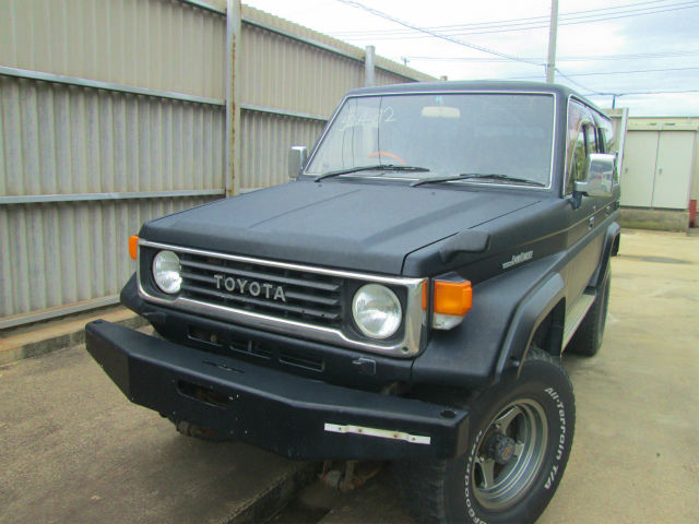 1993 Toyota Land Cruiser ZX HZJ77HV SUV 4-door