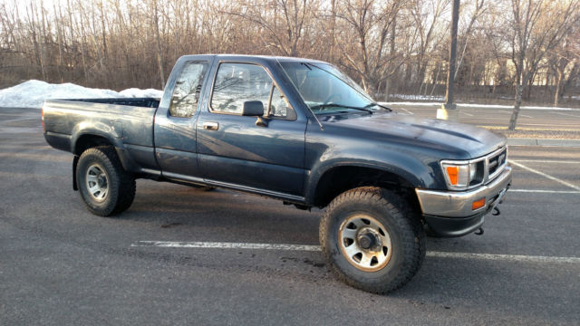 1993 Toyota Pickup Extra Cab Turbo Diesel 4x4 for sale ...