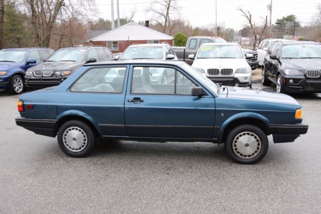 1993 VOLKSWAGEN FOX WOLFSBURG EDITION for sale: photos, technical