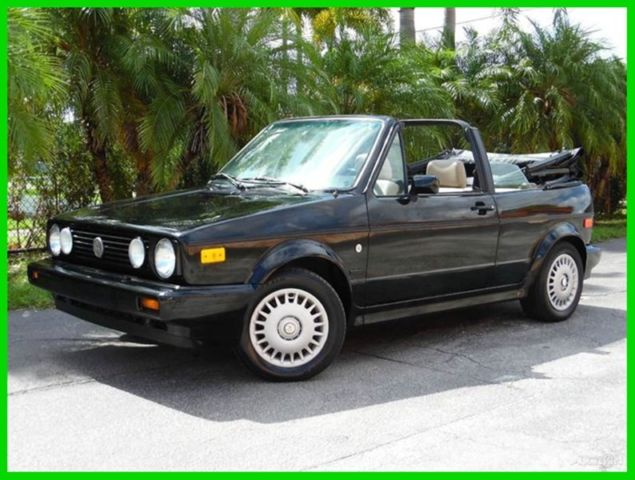 1993 Volkswagen Cabrio Collector's Edition