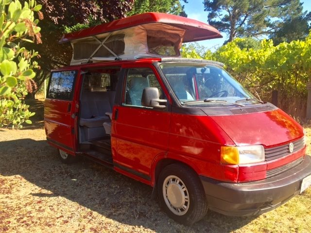 1993 VW Eurovan MV 5 speed camper pop top Weekender Van for