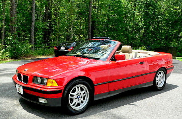 1994 BMW 3-Series 325iC 325i C CONVERTIBLE