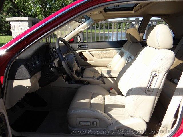 ACURA LEGEND COUPE REDTAN LTHR SPEED MANUAL ONLY K OWNER - Acura legend manual transmission for sale