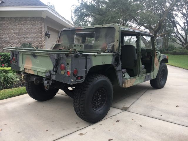 1994 Green Hummer H1 M998 with Green interior