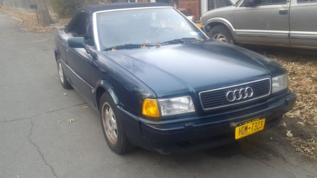 1994 Audi Cabriolet Base Convertible 2-Door