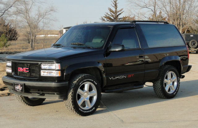 1994 Black 4x4 Gmc Yukon Gt Excellent Condition Everything Works