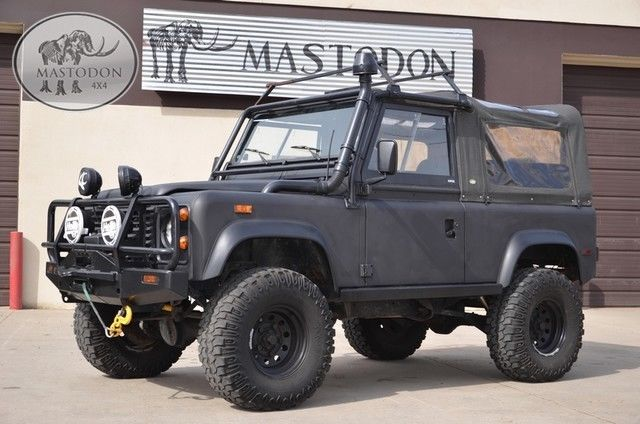 1994 Land Rover Defender D-90 Defender Black