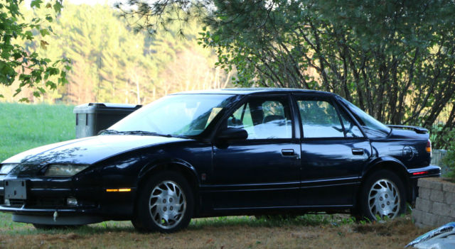 1994 Blue Black Saturn Sl2 4 Door Car W Options About 110 000 Miles One Owner