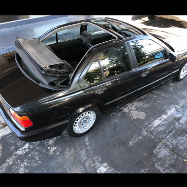 1994 Bmw 3 Series Baur Tc4 318ti E36 Baur Four Door Cabrio For