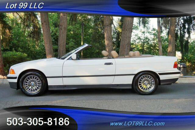 1994 BMW 3-Series 325i Convertible Only 76K Miles Leather 1 OWNER