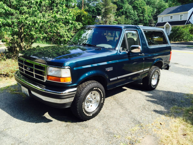 1994 Ford Bronco XLT GORGEOUS SURVIVOR! Original Paint!