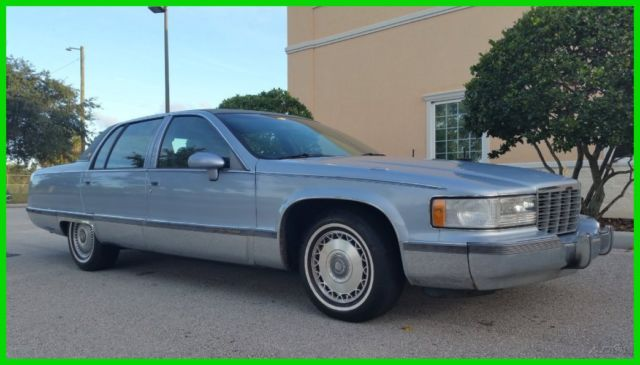 1994 Cadillac Fleetwood BROUGHAM CLEAN CARFAX NO RESERVE