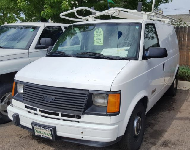 1994 Chevrolet Astro Cargo Van With Roof Ladder Rack For Sale