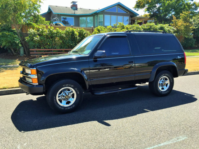 1994 chevrolet blazer 4x4 for sale photos technical. Black Bedroom Furniture Sets. Home Design Ideas