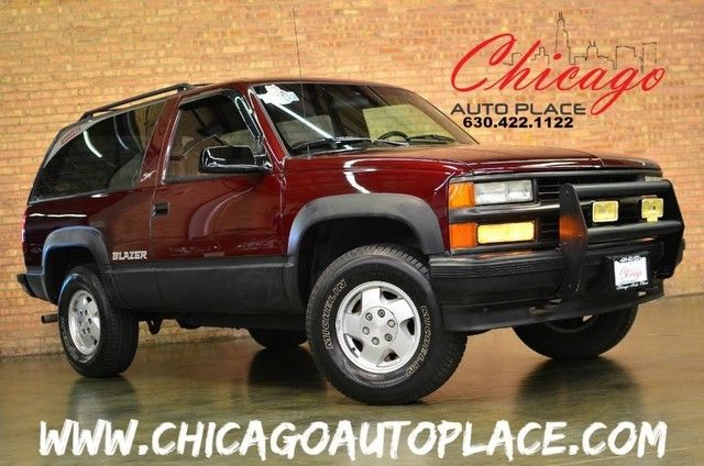 1994 Chevrolet Other Pickups 1 OWNER CLEAN CARFAX 4WD RED INTERIOR CLEAN TRADE