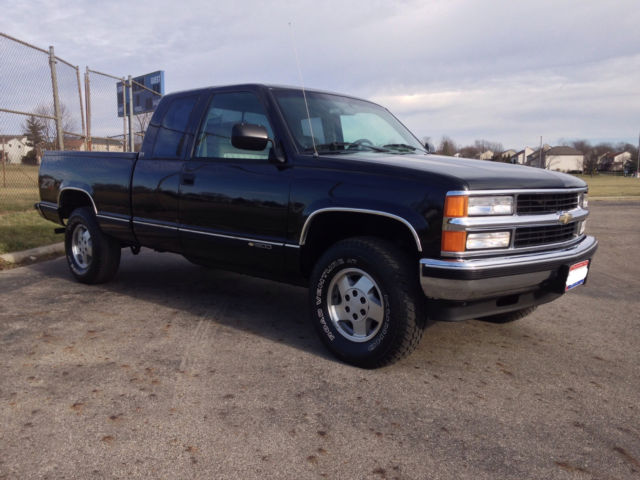 1994 chevrolet silverado k1500 4x4 extended cab clean for sale photos technical. Black Bedroom Furniture Sets. Home Design Ideas