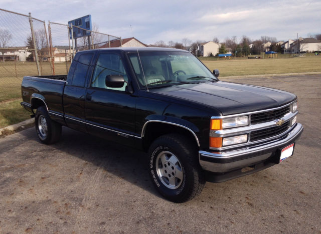 1994 Chevrolet Silverado K1500 4X4 Extended Cab, CLEAN for ...