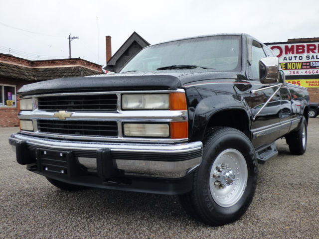 1994 CHEVY GMT400/ K2500- 4SPEED W/OD+LOW- 80K MILES