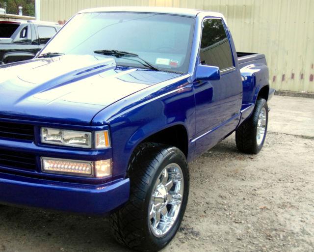 1994 CHEVY Z71 4x4 Single FRAME OFF Truck $18K RESTO ...