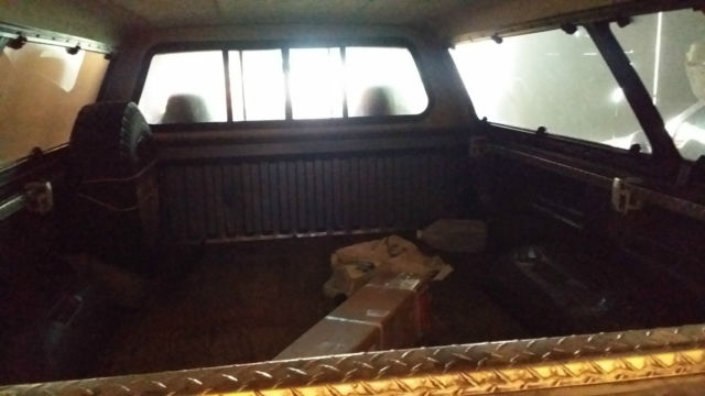 1994 Gray Dodge Ram 1500 Cab & Chassis with maroon interior