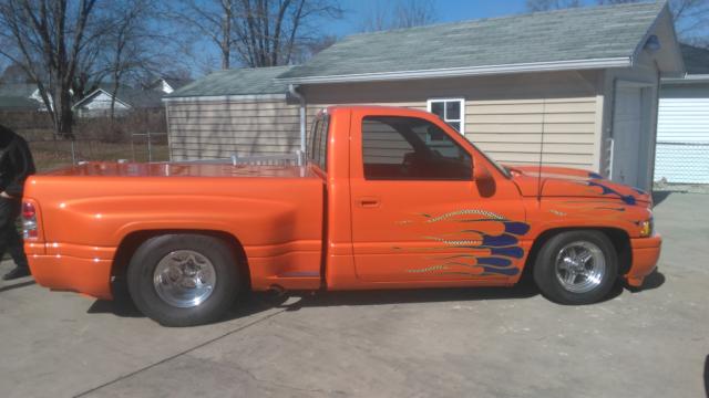 1994 Dodge Ram 1500 Slt Custom Pro Street Truck For Sale Photos