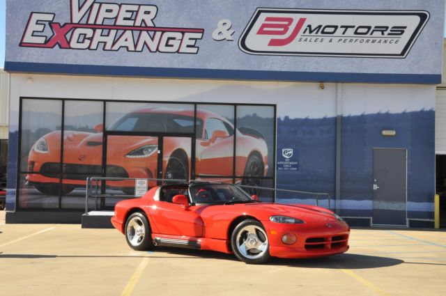 1994 Dodge Viper, Red  Collector Quality with 4,501 Miles available now!