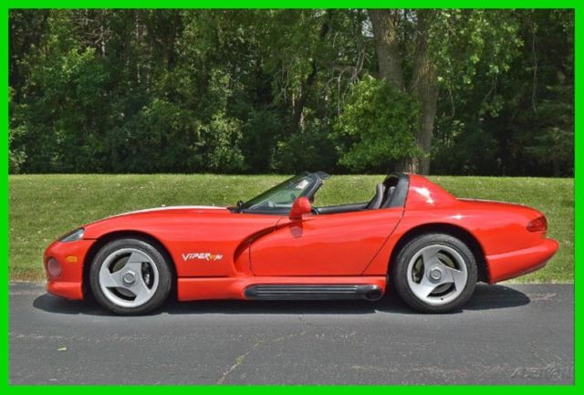 1994 Dodge Viper RT/10 Hard Top, Soft Top, Sliding Windows