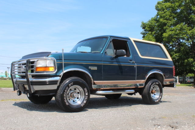 1994 Ford Bronco Eddie Bauer SUV 2-Door Automatic 4-Speed