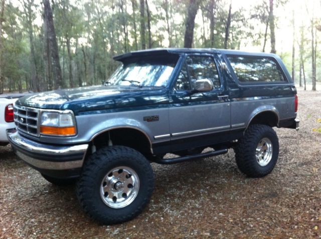 1994 ford bronco xlt 105 wb with leather interior for sale photos technical specifications description topclassiccarsforsale com