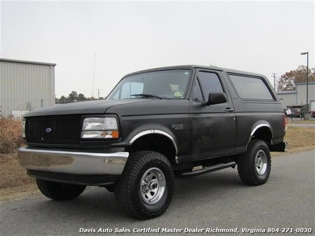1994 Ford Bronco XLT Classic OBS 4X4 Lifted SUV