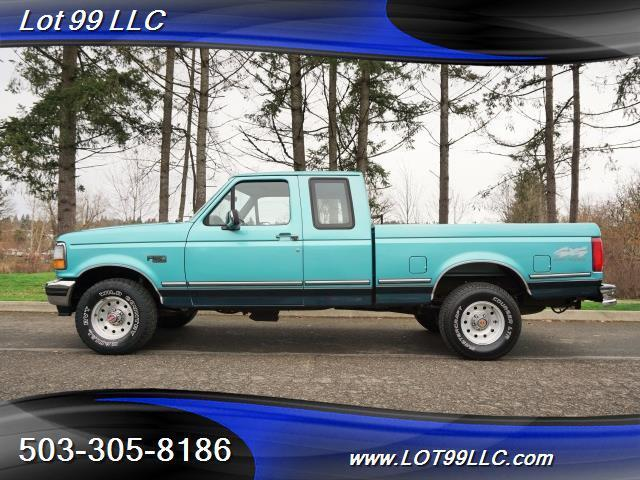 1994 Ford F-150 XLT EXTRA CAB 4X4 1 OWNER LOW MIELS