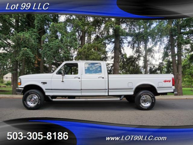 1994 Ford F-350 XLT Crew Cab 5 Speed Manual 8Ft Bed