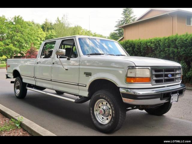 1994 ford f 350 xlt crew cab 5 speed manual 8ft bed 5. Black Bedroom Furniture Sets. Home Design Ideas