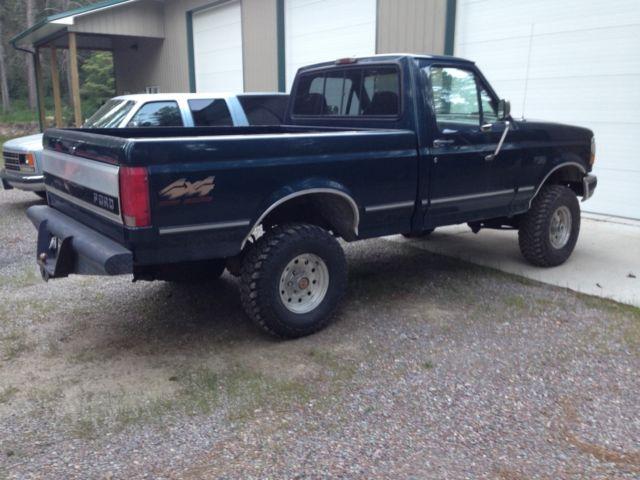 1994 ford f150 4wd short bed 5 8l v8 new 32 tires 3 lift new transmission for sale photos. Black Bedroom Furniture Sets. Home Design Ideas
