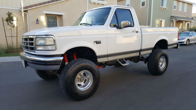 1994 Ford F-150 XLT 4X4 SHORT BED BEAST CALIFORNIA RUST FREE TRUCK