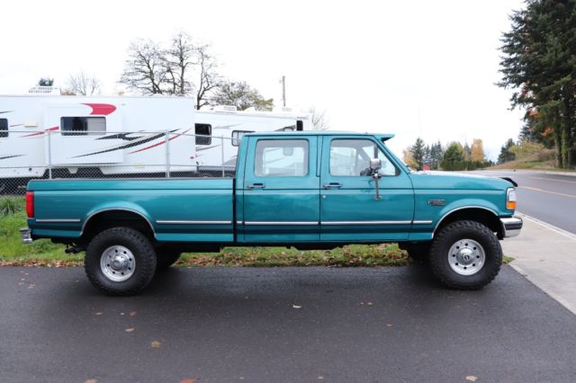 1994 Ford F350 XLT Crew Cab Long Bed 4x4 1995 1996 1997 ...