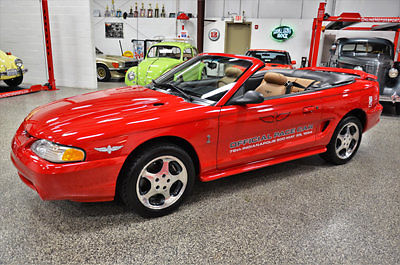 1994 Ford Mustang Mustang GT SVT Cobra Indy 500 Pace Car