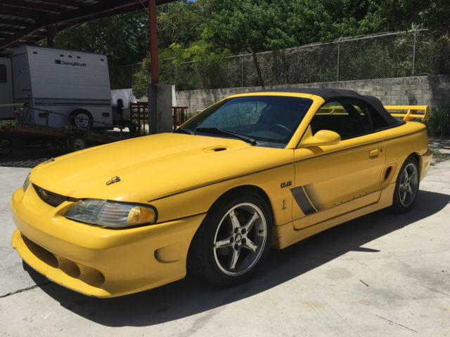 1994 ford mustang gt convertible 2 door 5 0l cobra saleen for sale photos technical. Black Bedroom Furniture Sets. Home Design Ideas