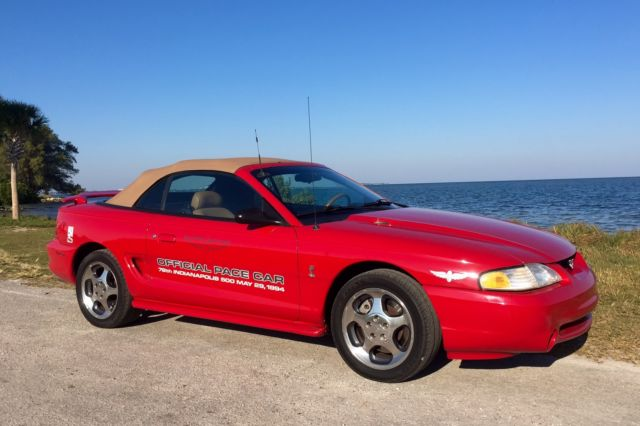 1994 Ford Mustang SVT Cobra Convertible 2-Door