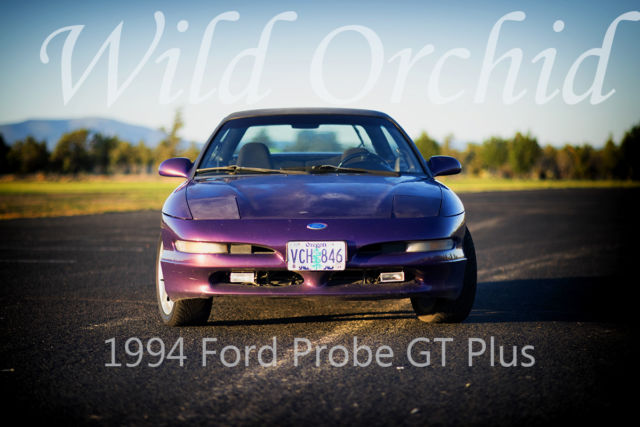 1994 Ford Probe Wild Orchid Special Edition