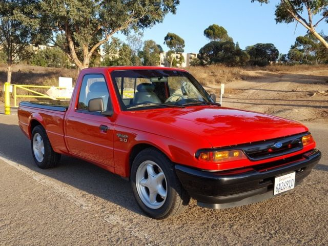 1994 ford ranger pickup with mustang 5 0 engine and drive line very nice build for sale. Black Bedroom Furniture Sets. Home Design Ideas