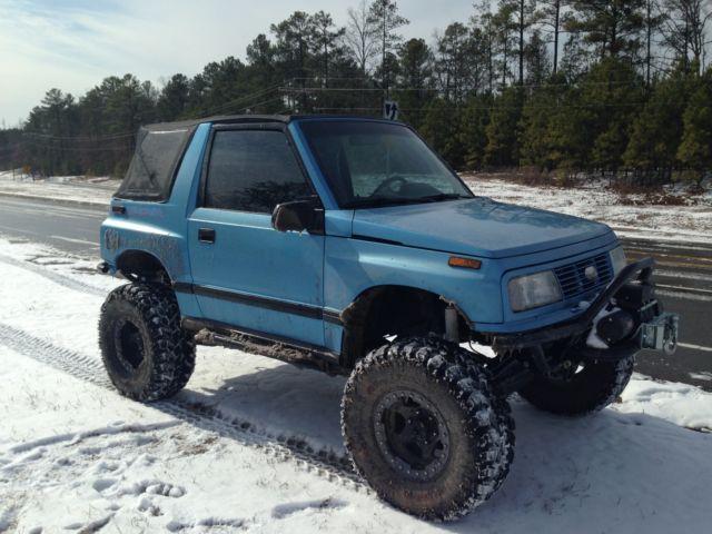 Suzuki Sidekick To Buggy