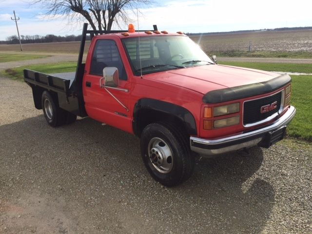 1994 GMC 3500 Dually Flatbed 4x4 for sale: photos, technical ...