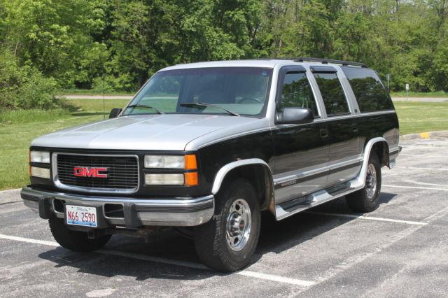 1994 gmc suburban 6 5l turbo diesel for sale photos technical